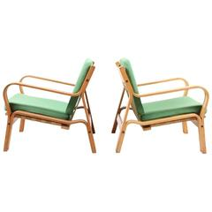 Pair of Easy Chairs by Wegner