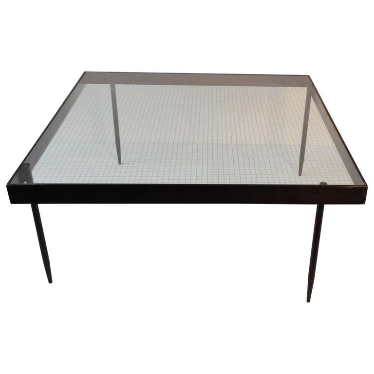 Model 'G4a' Coffee Table by Janni Van Pelt, Dutch Modernist