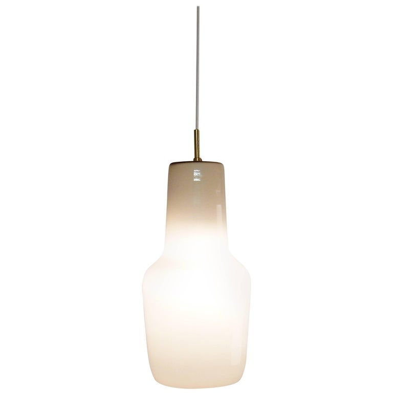 Model's Largest Size Glass Pendant by Paolo Venini for Venini, Italy, 1950s For Sale