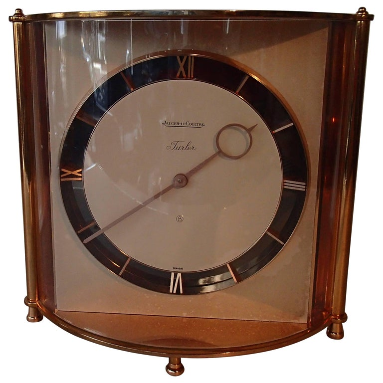 Mid-Century Jaeger-LeCoultre Table Clock For Sale