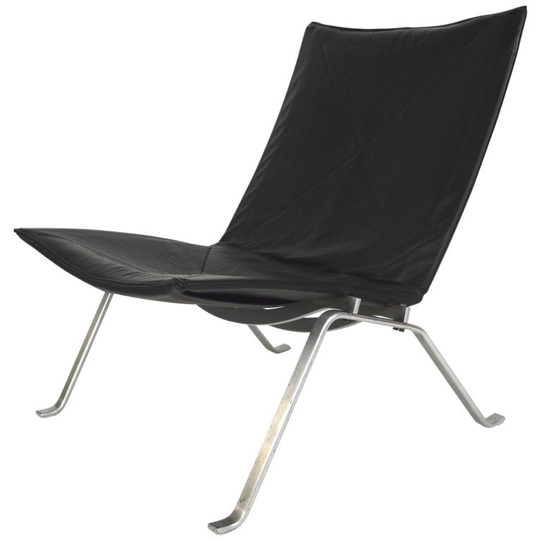 E. Kold Christensen by Poul Kjaerholm PK22 Lounge Chair
