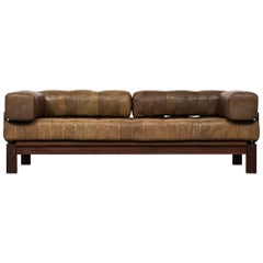Daybed or Sofa in the Manner of De Sede