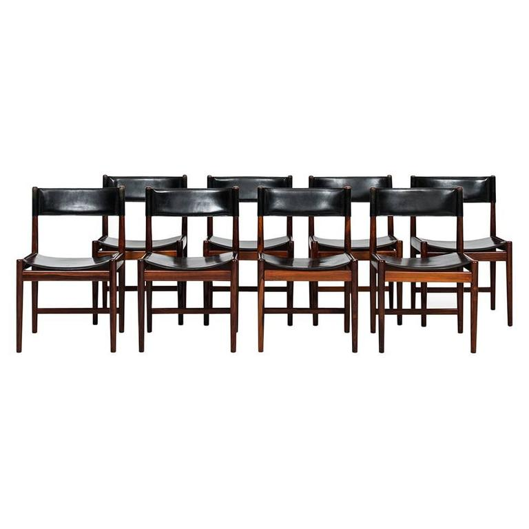Kurt Ostervig Dining Chairs by Sibast in Denmark For Sale