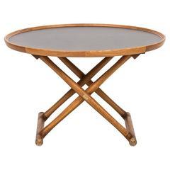 Mogens Lassen Egyptian Table by A.J. Iversen in Denmark