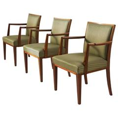 Set of three Scandinavian Armchairs