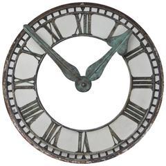 Copper Clock Face