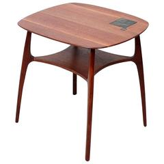 Edward Wormley for Dunbar Tiffany Tile-Top Table