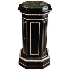 20th Century Classicist Style Columnised Cupboard