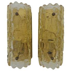 Mid-Century Modern Pair of Sconces by Carl Fagerlund, Sweden