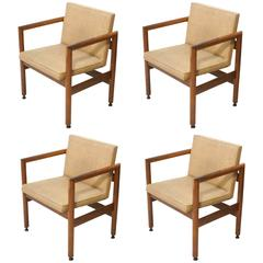 Set of Four Thonet Armchairs