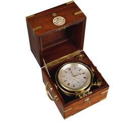 19th Century Antique 2 Day Marine Chronometer Charles Frodsham, London, No.0042