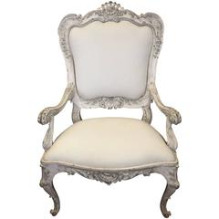 Venetian Style Armchair