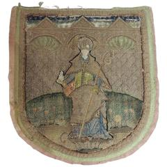 18th Century Tapestry Fragment of an English Cope