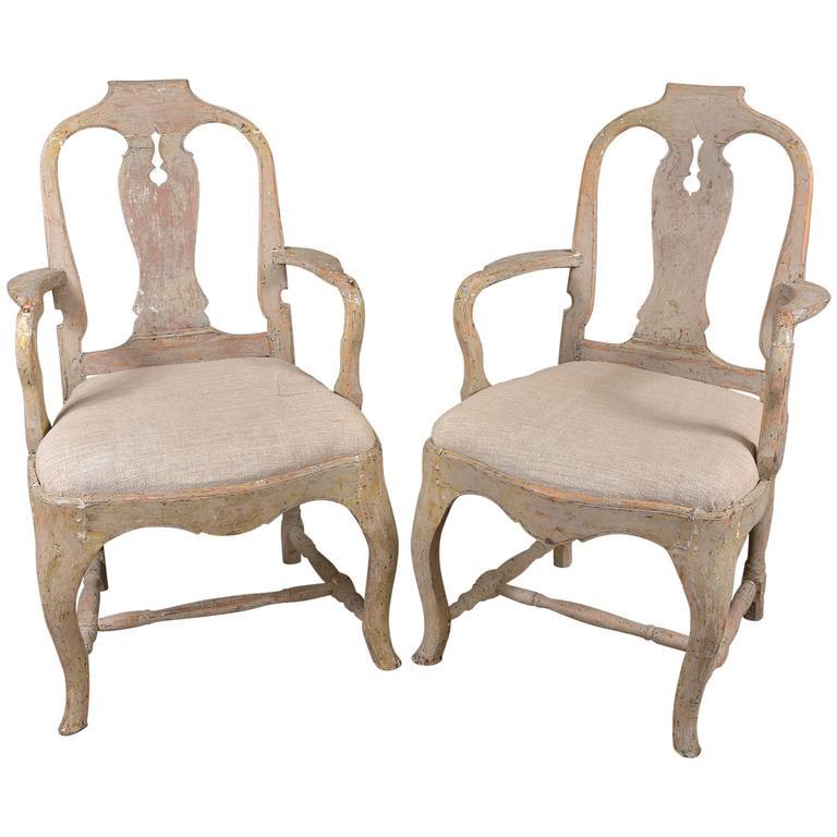Swedish Rococo Chairs 1