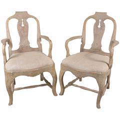 Swedish Rococo Chairs