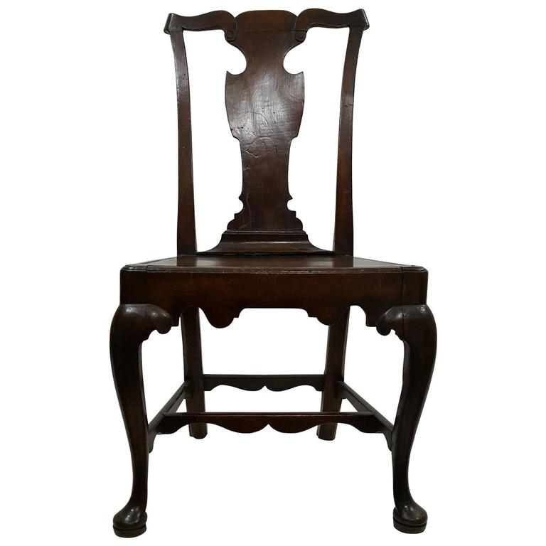 18th Century Fruitwood Chippendale Country Chair For Sale At 1stdibs