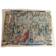 18th Century Aubusson Tapestry Panel