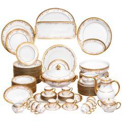 French Limoges Porcelain Haviland Mod. Diplomate Table Service