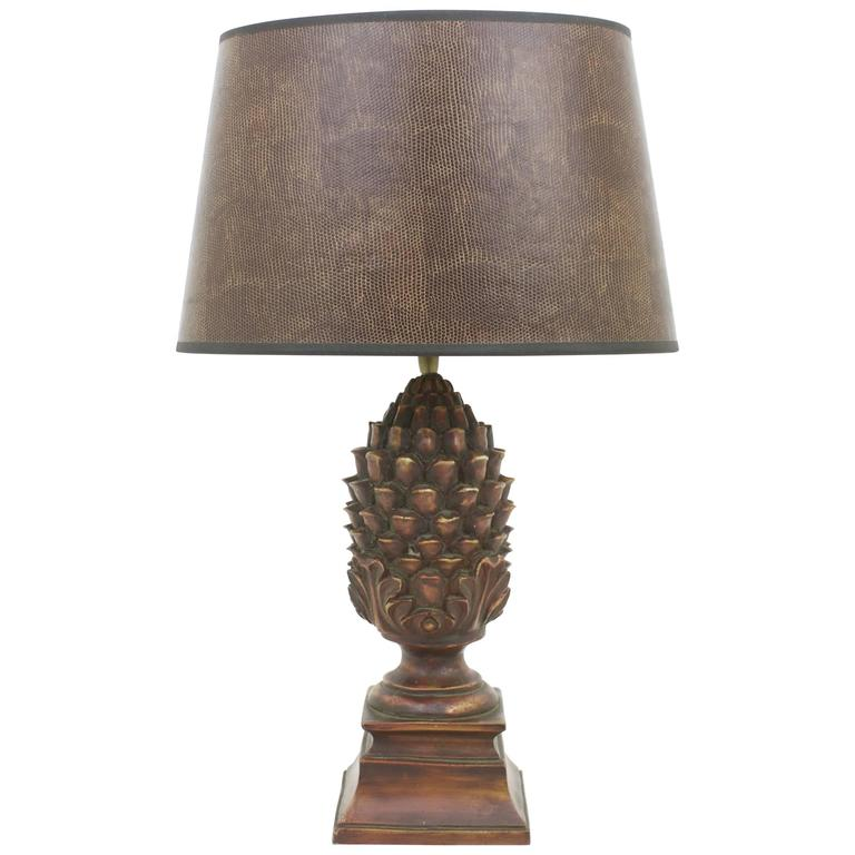 nice table lamps cheap nice pineapple table lamp for sale at 1stdibs
