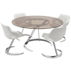 Boris Tabacoff Dining Table and Chairs