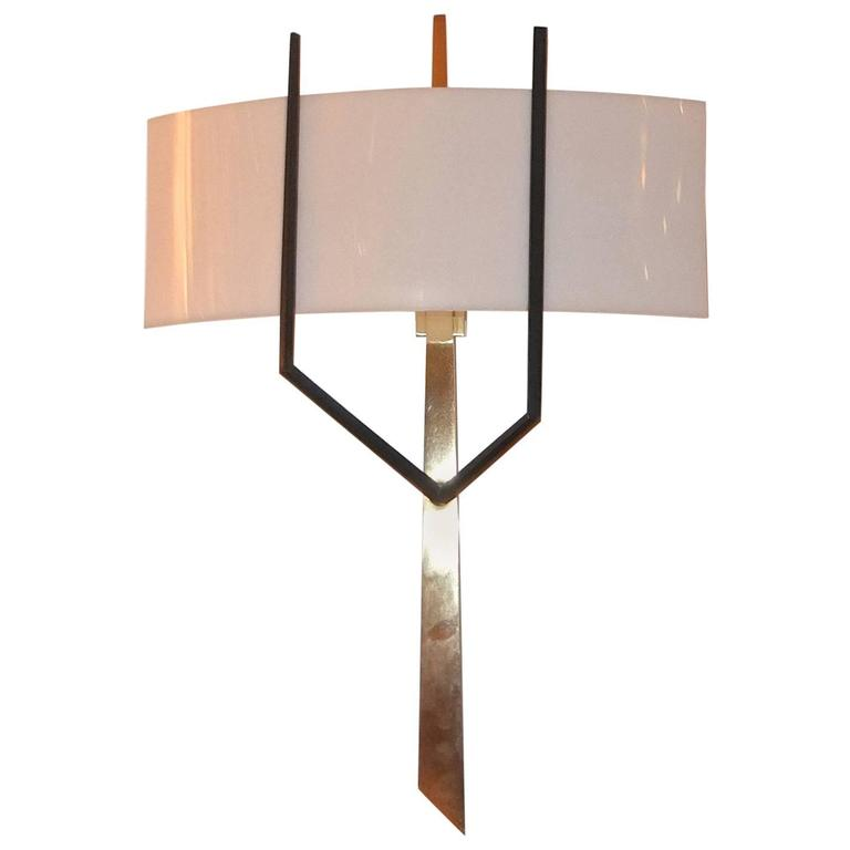 Royal Lumiere for Lunel Sculptural Wall Lamp