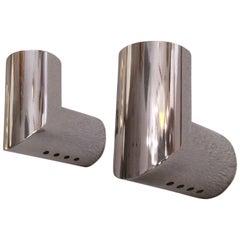"""Nanda Vigo """"Geometral"""" Pair of Wall Lamps Arredoluce"""