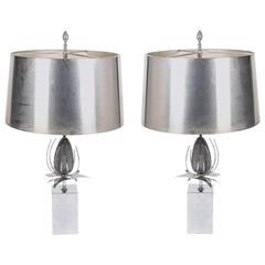 Pair of Chardon Table Lamps by Maison Charles