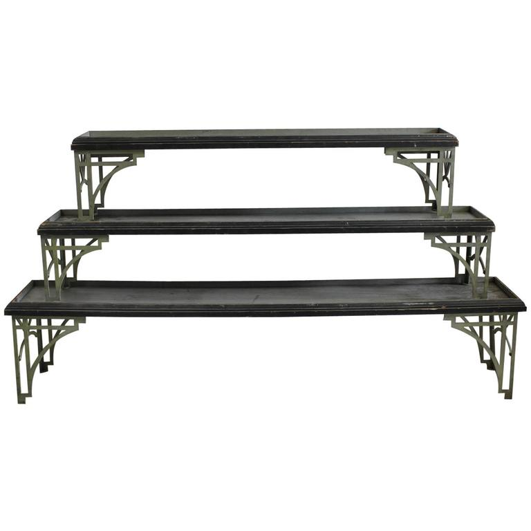 Art Deco Stackable Shelves or Plant Stands