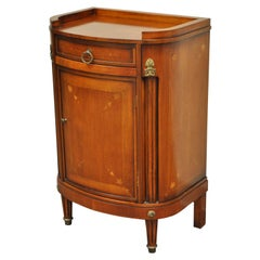 French Louis XVI Cherry Italian Nightstand Cabinet Commode by Buying & Design