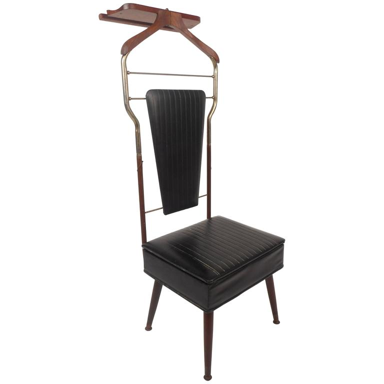 Mid Century Modern Valet Butler Chair For