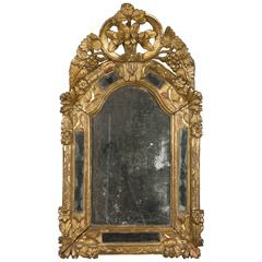 18th Century French Regence Gilded Mirror
