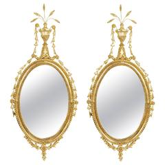 Pair of English Regency Mirrors, circa 1820