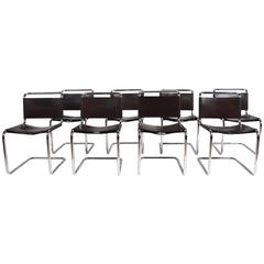 Eight Spoleto Dining Chairs by Knoll International