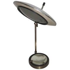 Table Lamp Mid-Century Italian Design Oscar Torlasco for Lumi