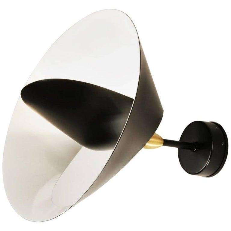 serge mouille saturne sconce lamp for sale at 1stdibs. Black Bedroom Furniture Sets. Home Design Ideas