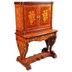 20th Century Writing Cabinet after the Italian Master Gio. B. Gatti