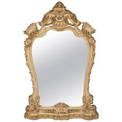 20th Century Louis XV Style Standing Mirror