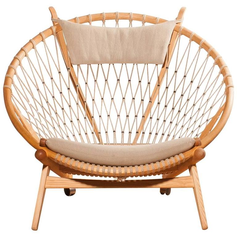 1980s Circle Chair By Hans J Wegner For Pp M 246 Bler At