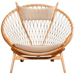Circle Chair the circle chairhans j. wegner for sale at 1stdibs