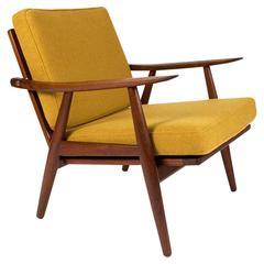 Hans J. Wegner GE-270 Teak Lounge Chair