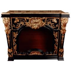 20th Century Style of Louis XV Fireplace