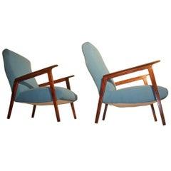 Italian Mid-Century Design Armchairs, 1950s