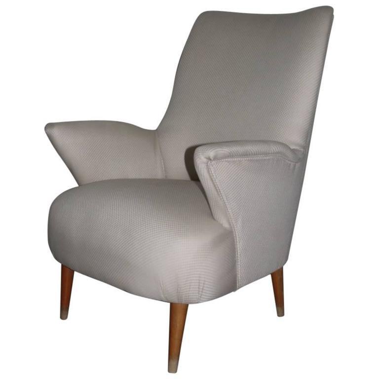 Italian Armchairs in 1950s Design