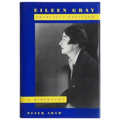 "Peter Adam, Eileen Gray, Architect or Designer ""A Biography"" Book"