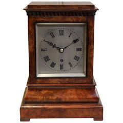 Regency Mahogany Bracket Clock For Sale At 1stdibs