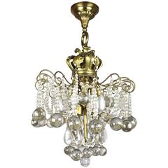 Crystal Chandelier by E. F. Caldwell