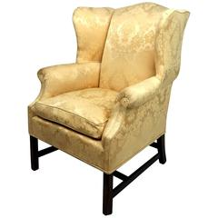 Superb Georgian Style Wingback Chair