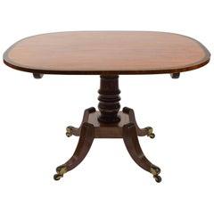 Regency English Mahogany Breakfast Tilt-Top Table