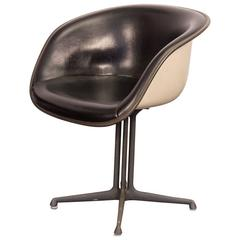La Fonda Padded Armchair by Charles and Ray Eames