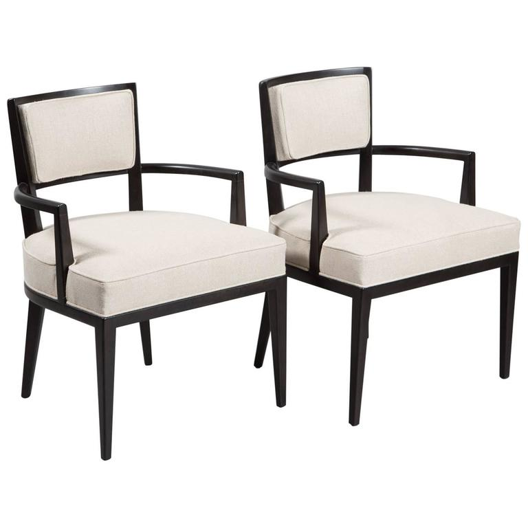 Pair of Tommi Parzinger Armchairs For Sale